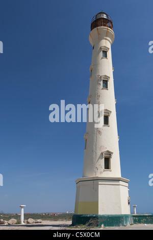 Phare California, manchebo beach, Aruba, Antilles néerlandaises Banque D'Images