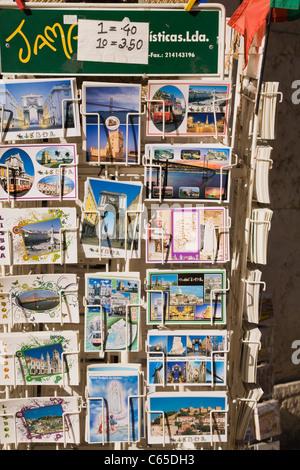 Cartes postales à vendre, Lisbonne, Portugal Banque D'Images