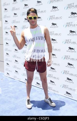 Josh Holly Madison All-American Strickland République humide héberge le 4 juillet à l'hôtel MGM Grand Resort Casino Banque D'Images