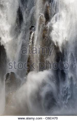 L'île de la réunion: cascade Niagara Banque D'Images