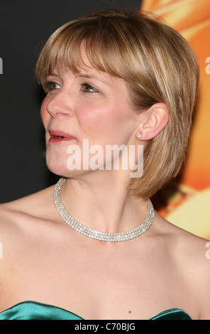 Jane Danson hairy chin, la Royal Television Society Awards 2010 (RTS awards) Londres, Angleterre - 16.03.10 Banque D'Images