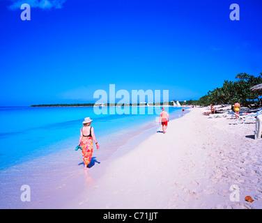 Playa Pesquero, près de Guardalavaca, Holguin, Cuba Province Banque D'Images