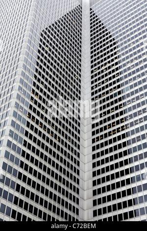 Tours de bureaux de Montréal Banque D'Images