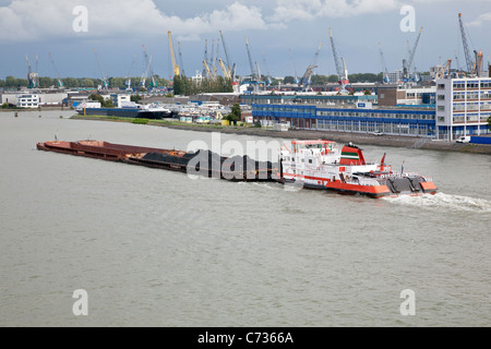 Port de Commerce de Rotterdam Europoort;;Pays-Bas;Hollande;l'Europe; Banque D'Images