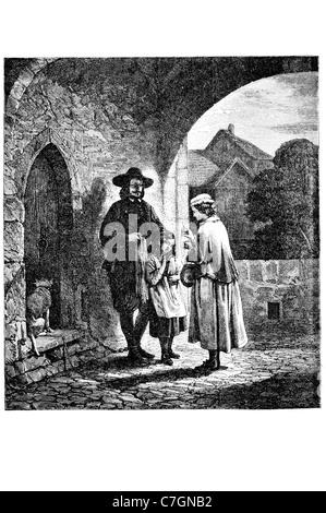 L'Anglais John Bunyan écrivain chrétien prédicateur célèbre écrivain écriture auteur The Pilgrim's Progress Baptiste Réformée