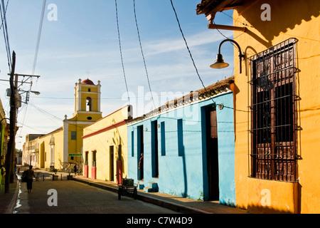 Cuba, Camaguey, la vie quotidienne en ville Banque D'Images