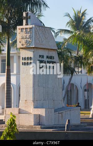 'Le Prince Henri le Navigateur' Monument, Palacio de Gobierno, Dili, Timor-Leste (Timor oriental), l'Asie