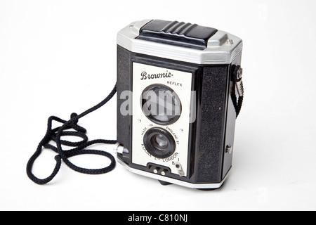 Fort de l'appareil photo Kodak brownie Banque D'Images
