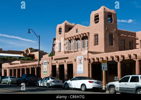 Musée des arts autochtones dans Santa Fe New Mexico USA Banque D'Images