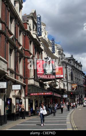 Le West End de Londres - Le Lyric Theatre, Shaftesbury Avenue, London, England, UK