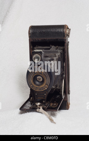 Le kodak no. 2 Folding autographic brownie était un appareil photo pliant pour le type 120 film autographic. Banque D'Images