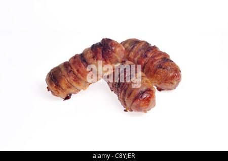 Sex, cuites Piggies dans des couvertures, également connu sous le nom de porcs dans une couverture, des saucisses Banque D'Images