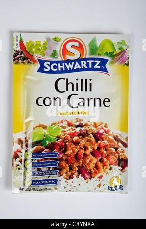 Schwartz Chili con carne Recette mix Banque D'Images