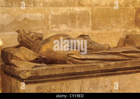Tombeau du Roi Ottokar II de Bohême en Habour dans le château de Prague à Prague, République tchèque. Banque D'Images