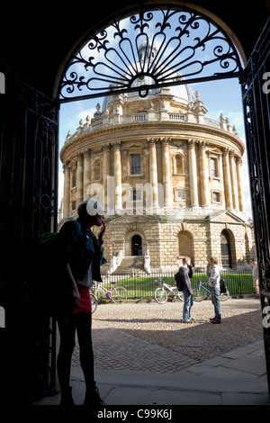 Radcliffe Camera, Oxford, Oxfordshire, Angleterre Banque D'Images