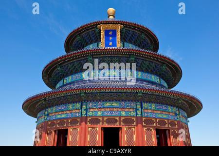 Tian Tan, Temple du Ciel, Qinian Dian temple, Beijing, Chine, République populaire de Chine, l'Asie Banque D'Images