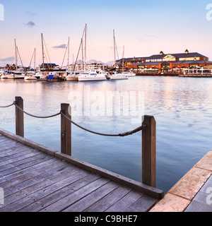 Dolhin Quay Ocean Marina à Mandurah, Australie occidentale Banque D'Images