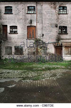 Usine abandonné Banque D'Images