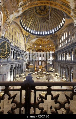 La mosquée Sainte-Sophie Hagia Sophia Museum UNESCO World Heritage Banque D'Images