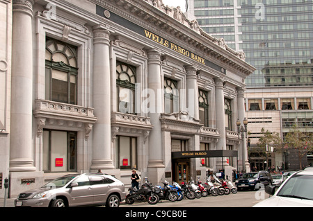 La Wells Fargo Bank Down Town San Francisco California United States Banque D'Images
