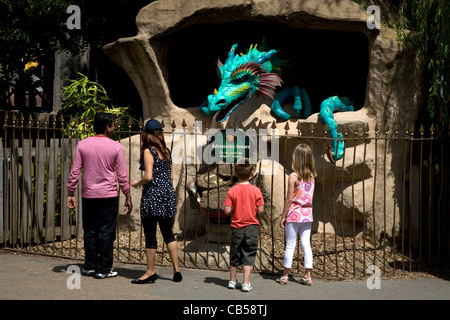 Chessington World of Adventures de Chessington surrey england Banque D'Images