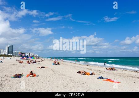South Beach, Miami Beach, Gold Coast, Florida, USA Banque D'Images