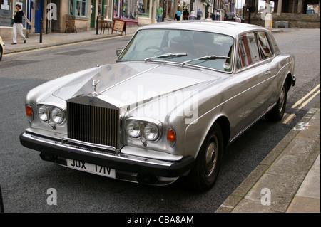 2000 Ford Crown Victoria 'V' l'enregistrement (1979) 'Silver' calice en couleur, la Banque, Barnard Castle, comté Banque D'Images