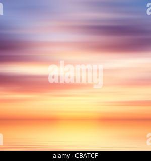Belle eau colorée et sky abstract background Banque D'Images
