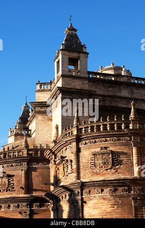 Aspects de la Cathédrale de Séville Cathédrale de Sainte Marie de l'Voir (Catedral de Santa María de la Sede) Séville, Banque D'Images