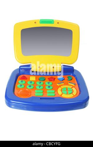 Jouet ordinateur portable Banque D'Images
