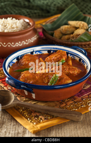 Goa curry de poisson et d'alevins de RAWA India food