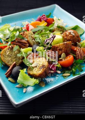 salade de falafels Banque D'Images