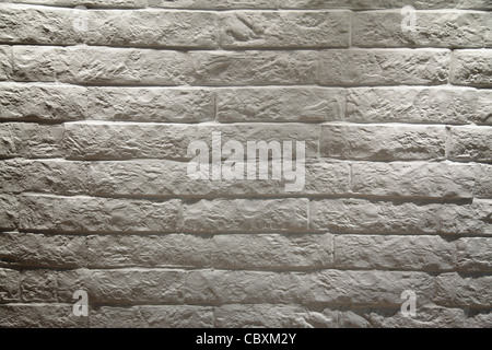 White brick wall background Banque D'Images