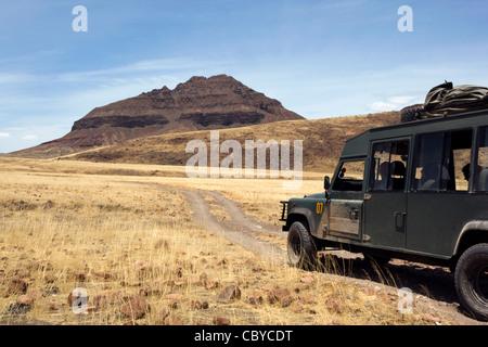 Paysage - région de Kunene Kaokoland, Namibie, Afrique Banque D'Images