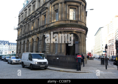 Ville de London magistrates court London England uk united kingdom Banque D'Images