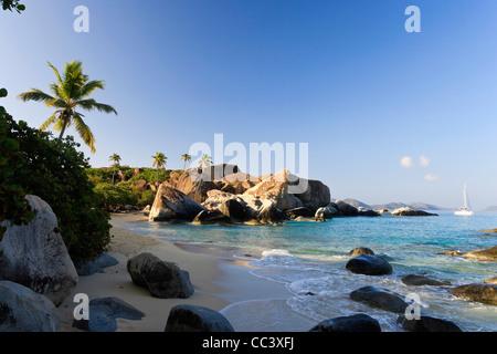 Caraïbes, îles Vierges britanniques, Virgin Gorda, Spring Bay National Park / Les Bains Banque D'Images