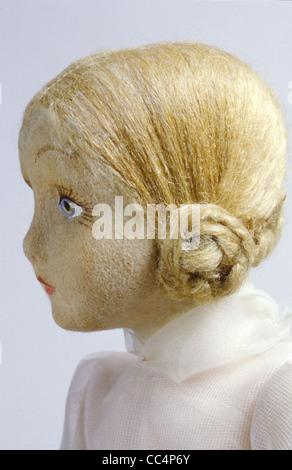 La collecte de jouets du xxe siècle. Poupée Furga. 30S. H. Cm. 44. Particulier Banque D'Images