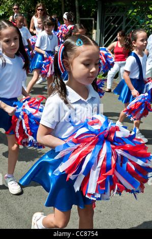 Date de l'indépendance de la vallée centrale du Costa Rica Banque D'Images