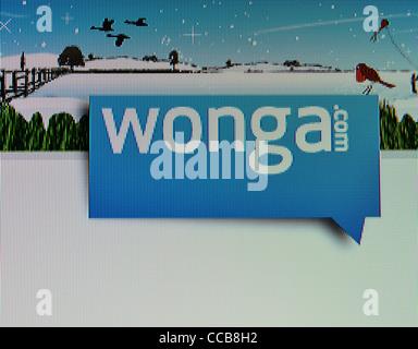 Prêts de trésorerie instantanée wonga.com site web