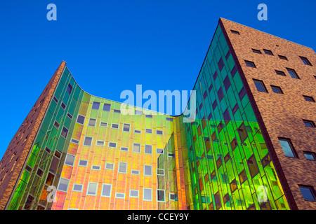 Immeuble de bureaux modernes à Deventer, Pays-Bas Banque D'Images