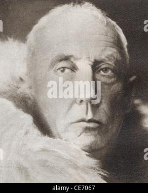 Roald Engelbregt Gravning Amundsen, 1872 - 1928. L'explorateur polaire norvégien et chef de la première expédition Banque D'Images