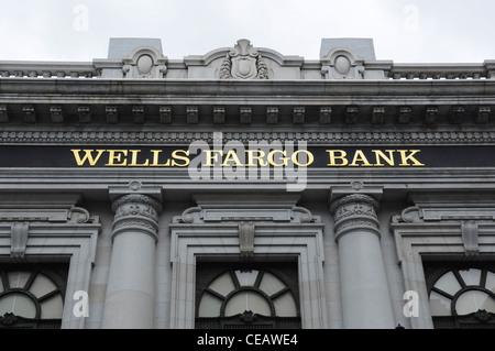 Wells Fargo Bank, San Francisco, California, USA Banque D'Images