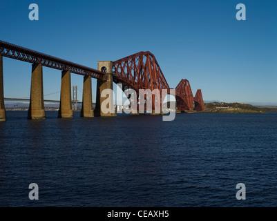 Dh Forth Railway Bridge PONT DU FORTH LOTHIAN Victorian pont Cantilever Firth of Forth en écosse des ponts ferroviaires