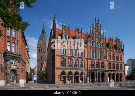 L'ancienne Mairie / Altes Rathaus à Hanovre, Basse-Saxe, Allemagne Banque D'Images