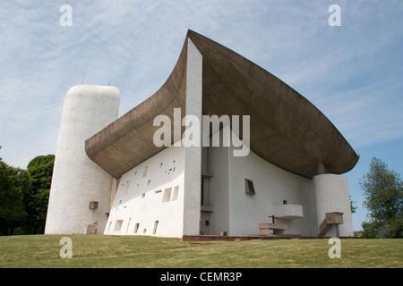 Le Corbusier, Notre Dame du haut, Ronchamp Banque D'Images