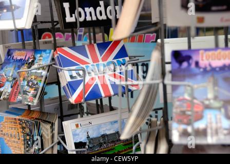 Cartes postales de Londres Banque D'Images