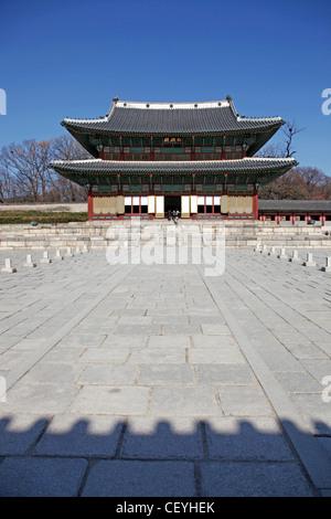Le Palais Changdeokgung à Séoul, Corée du Sud Banque D'Images
