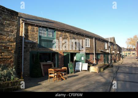 Elsecar Heritage Centre, Barnsley, dans le Yorkshire du Sud. UK. Feb 2012