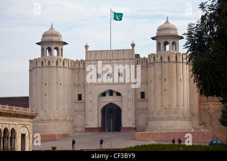 Alamgiri Gate, fort de Lahore, Lahore, Pakistan Banque D'Images