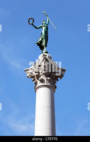 Monument de Dewey, Union Square, le centre-ville, San Francisco, California, USA Banque D'Images